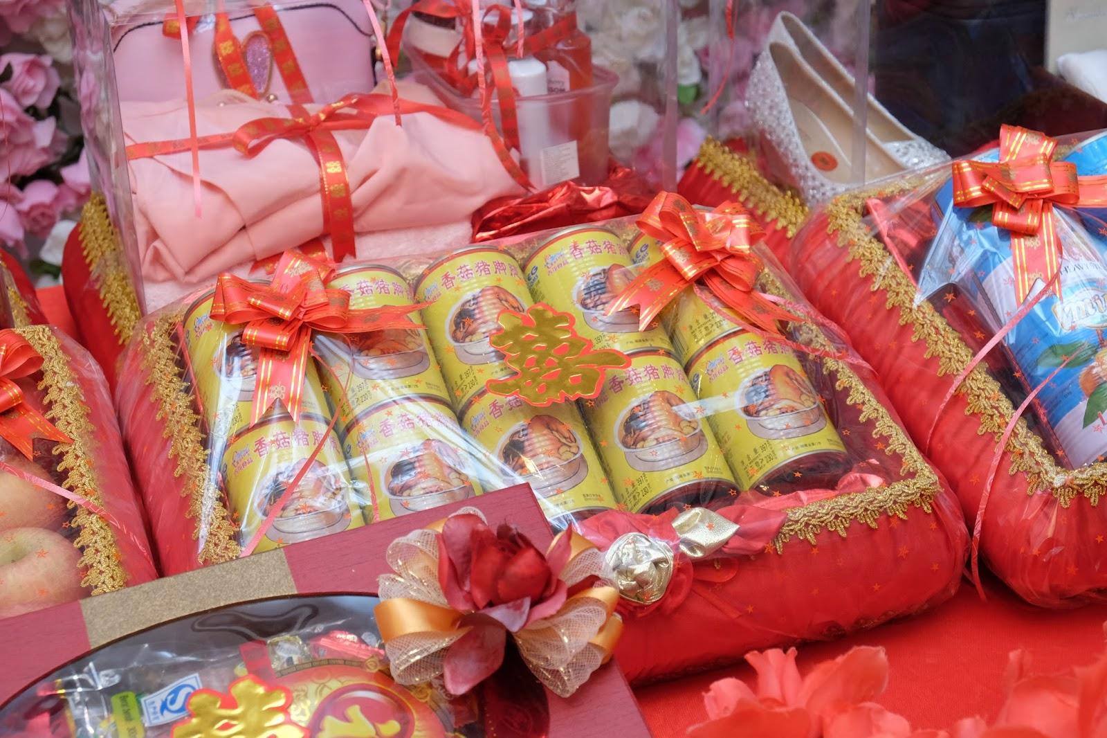 Sangjit Seserahan Tradisi Tionghoa Pre Wedding Ceremony In