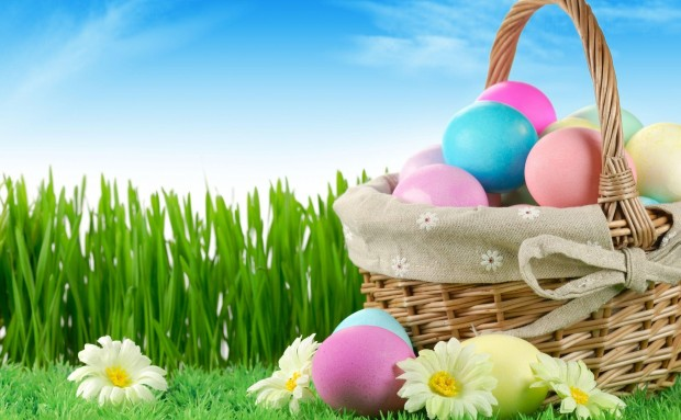 Happy Easter egg in basket Pictures Images Wallpapers 2021 (2)