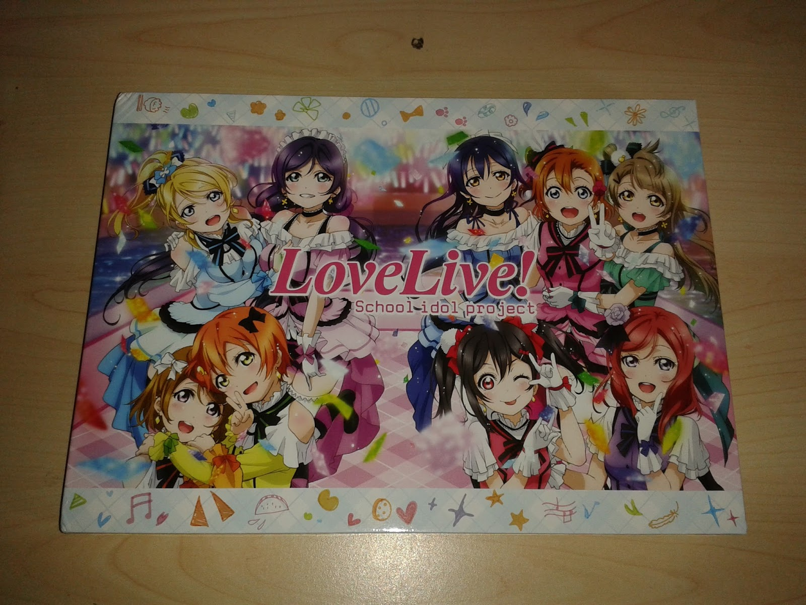 The Normanic Vault: Unboxing [US]: Love Live! School Idol Project