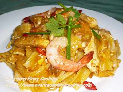 Pinoy Style Pad Thai Recipe