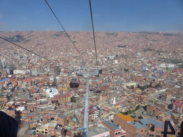 Ausblick auf La Paz