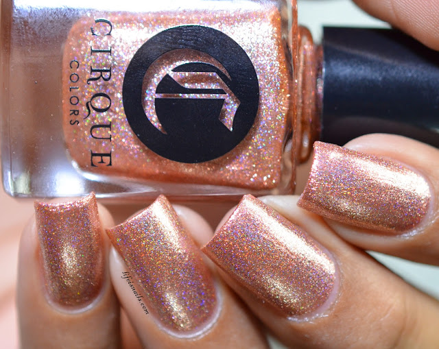 Cirque colors Himalayan pink