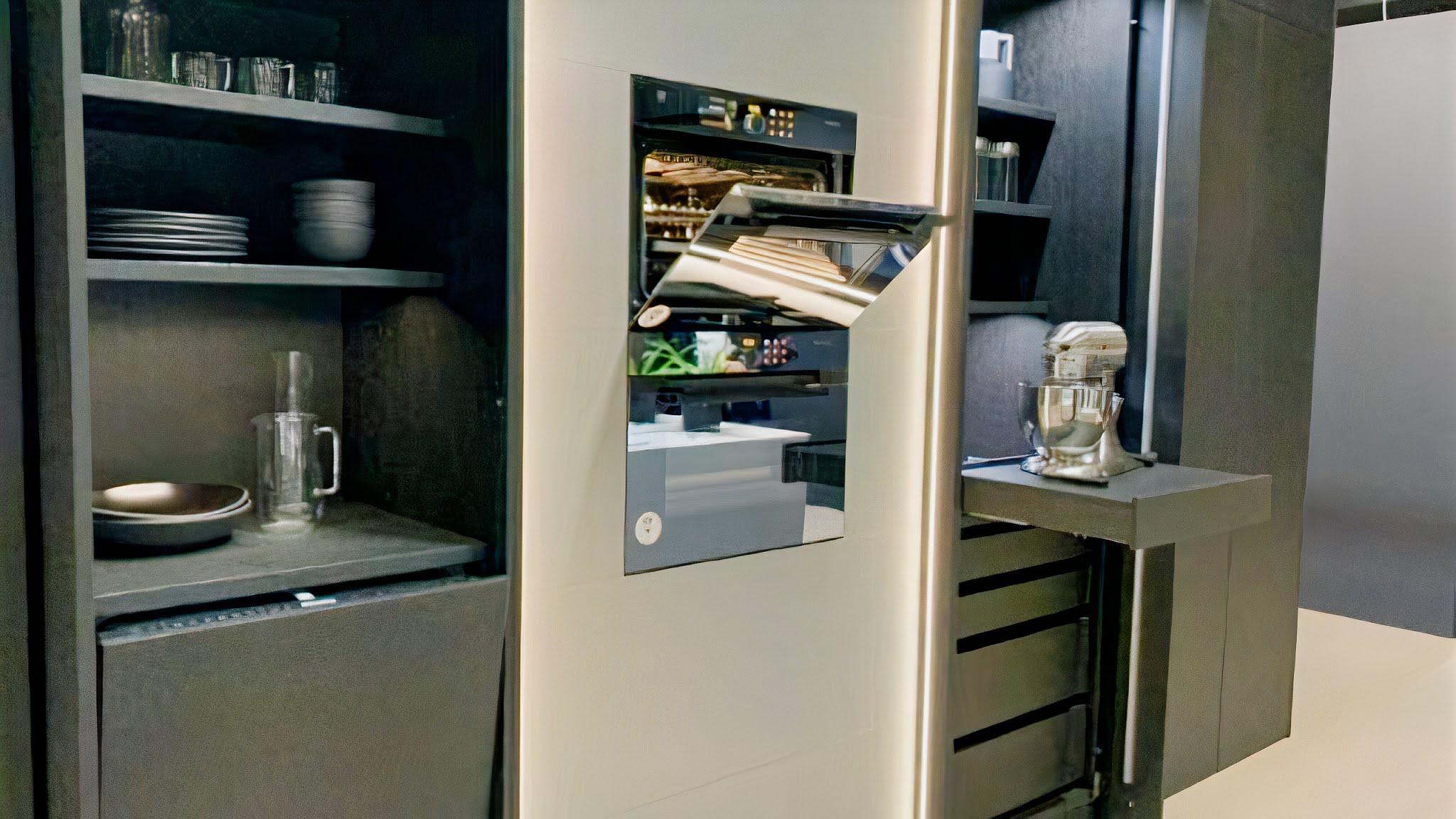Kitchen Trends 2021 Pocket Cabinets
