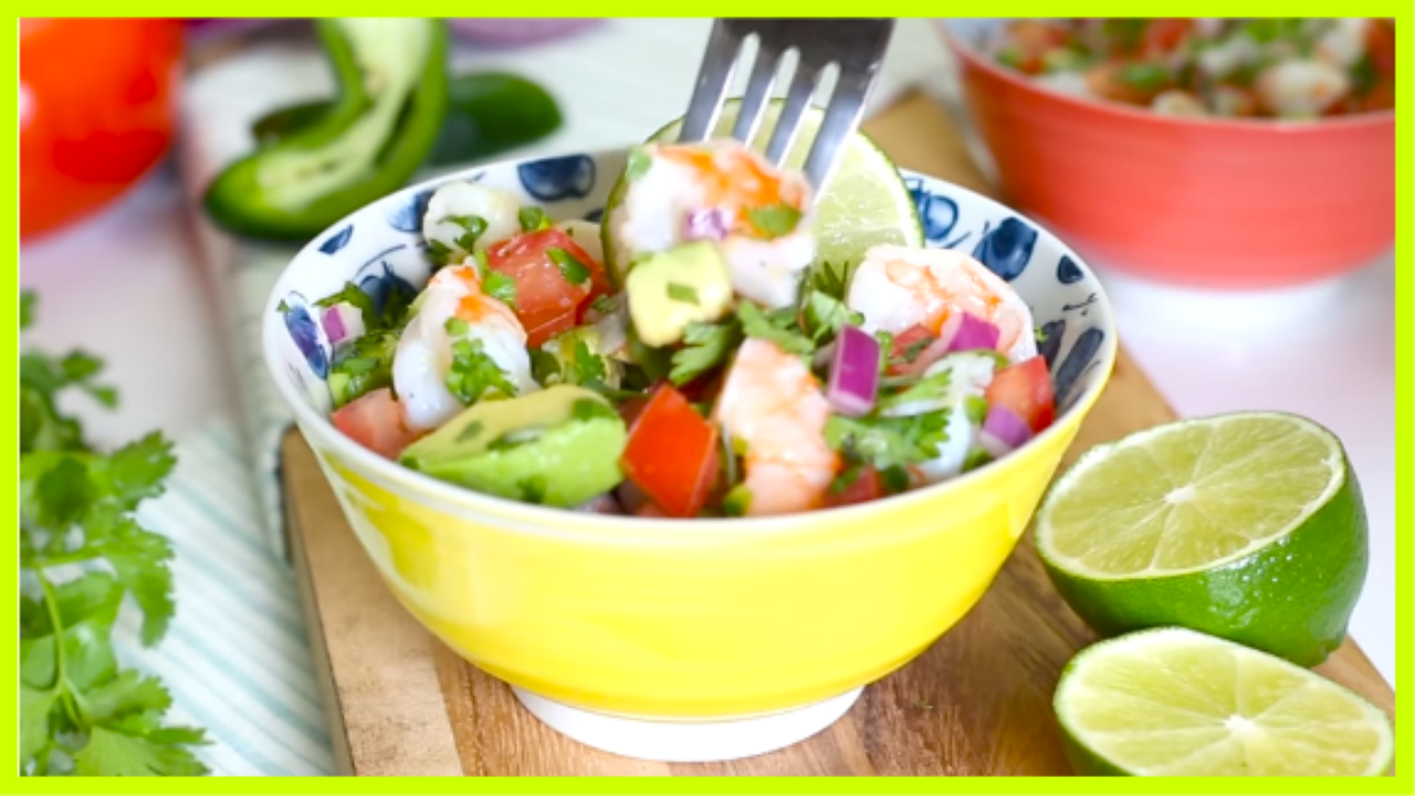 ZESTY LIME SHRIMP AND AVOCADO SALAD Smart Points: 4 - ww ...