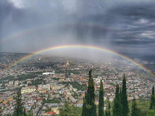 Радуга над Тбилиси