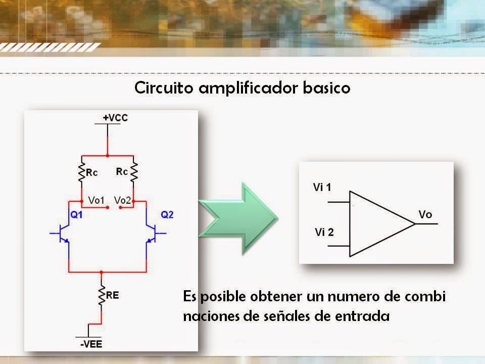 Circuito Basico : Circuito amplificador basico