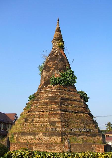 Black Stupa Vientiane Laos