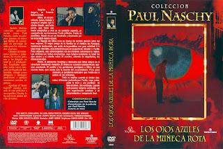Carátula dvd: Los ojos azules de la muñeca rota