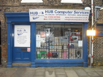 Picture: Hub Computer Services at 57 Wrawby Street, Brigg - see Nigel Fisher's Brigg Blog