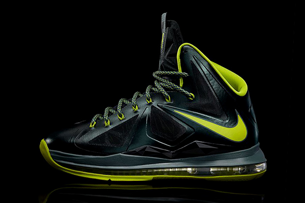 """online store 4618e d3173 Pictured here is the highly anticipated Nike LeBron X """"Dunkman,"""" the latest  in a line of warmly received and boldly colored releases."""