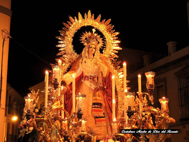 Salida Extraordinaria de la Virgen de la Amargura