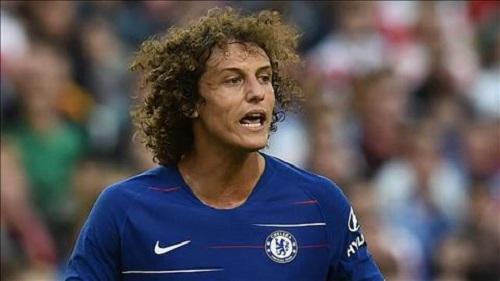 David Luiz trong màu áo CLB Chelsea