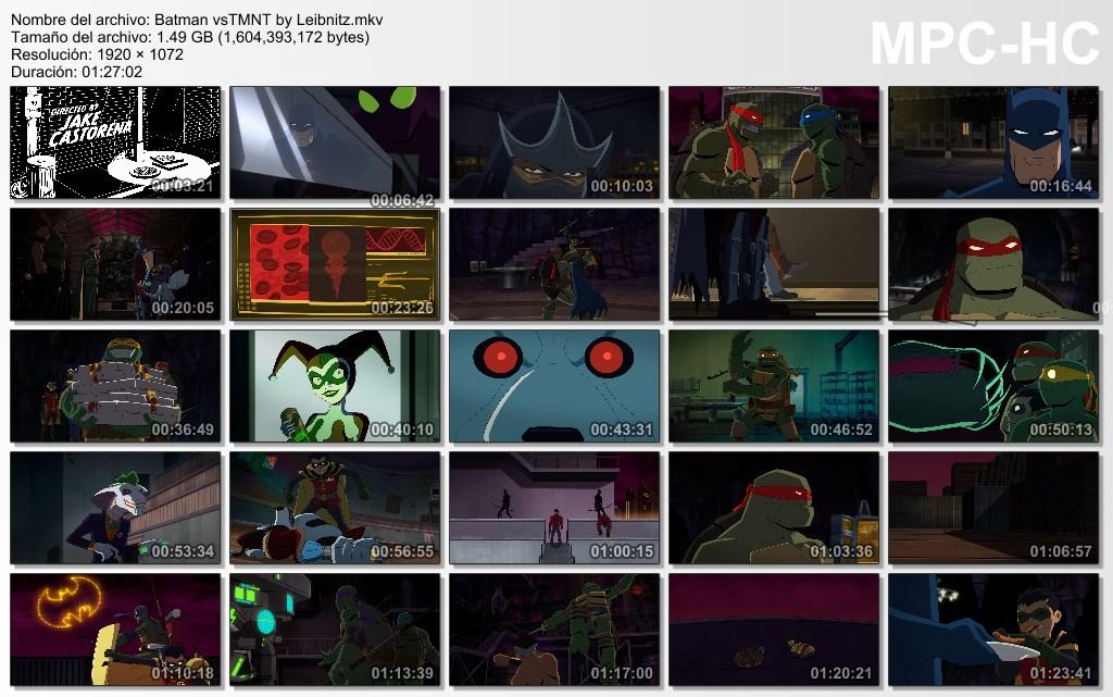 Batman vs TMNT [Dual Lat-Ing] [1080p]