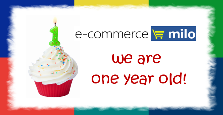 ecommerce.milo first annivesary!