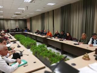 Δήμος Κατερίνης: Έκτακτη σύσκεψη του Συντονιστικού Τοπικού Οργάνου Πολιτικής Προστασίας