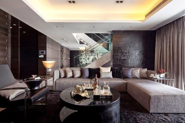 Sala decorada con elegancia salas con estilo for Decoracion de salas en turquesa