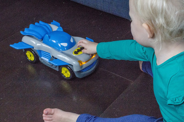 Making the Herodrive Batman Racer Preschooler car work