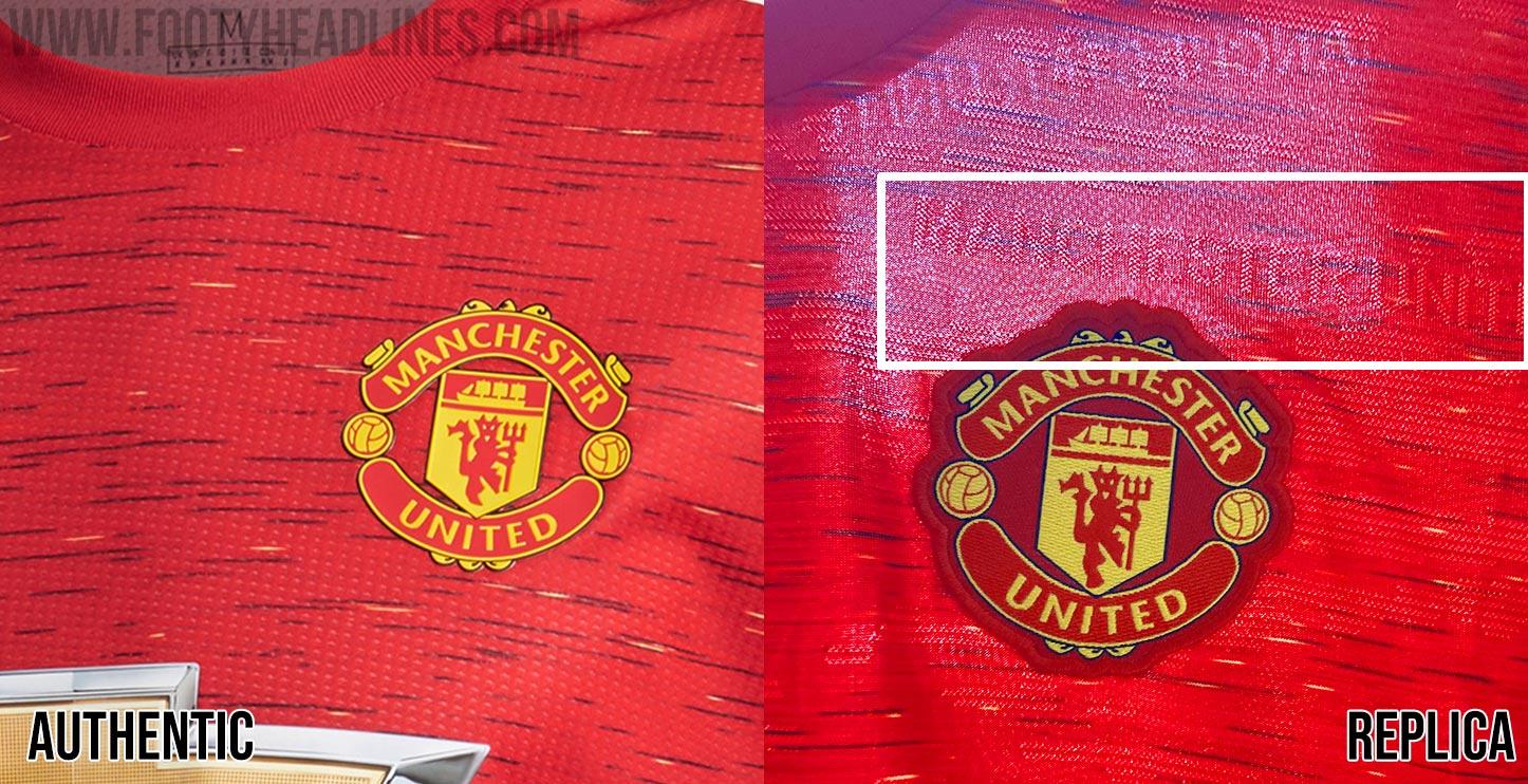 Invert Real Madrid Manchester United 20 21 Authentic Home Kit Lacks Many Details On Shirt Shorts Socks Footy Headlines