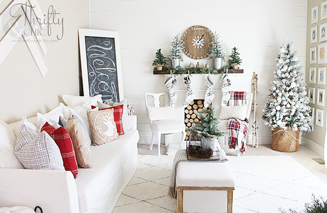 Christmas Decor And Decorating Ideas White And Red Christmas Decor