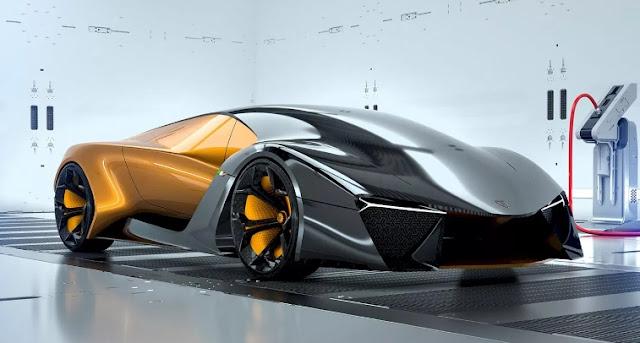 Lamborghini Belador | Hybrid Concept car by Sergey Dvornytskyy