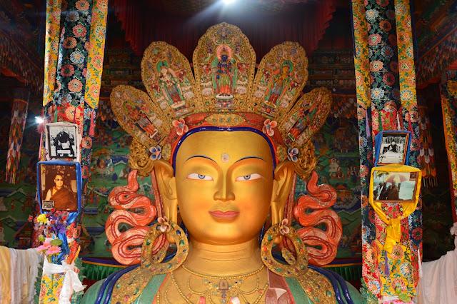 Bouddha au monastère de Ticksey