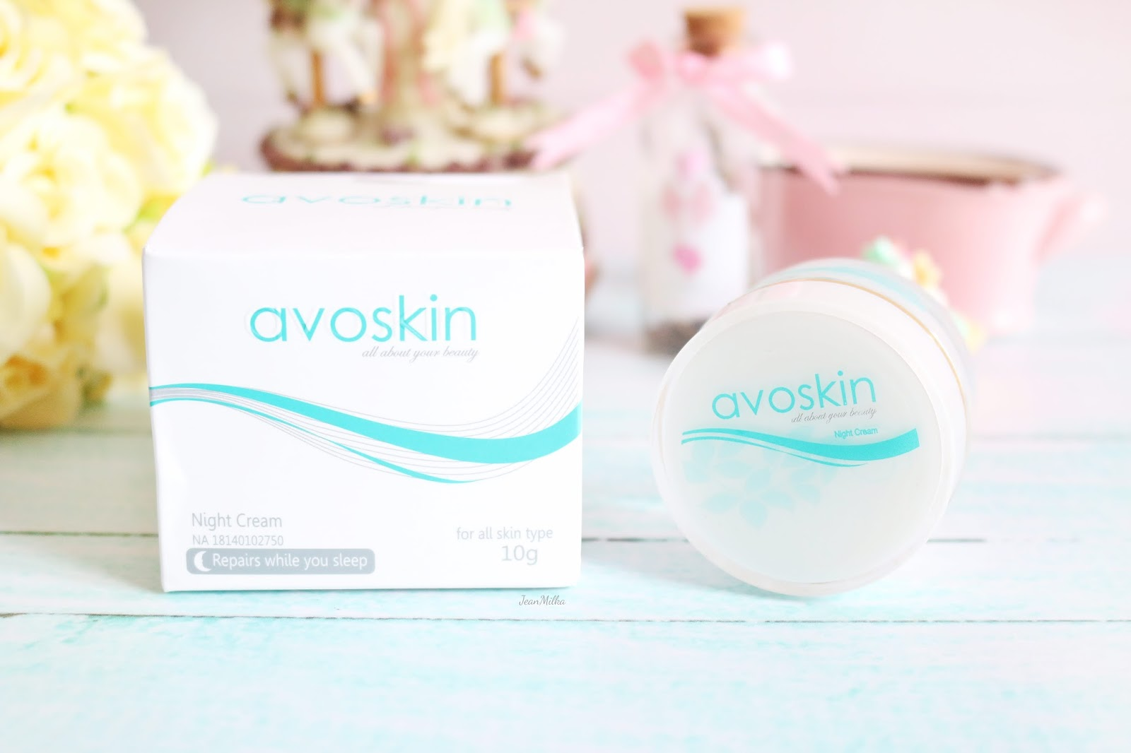 review, product review, night cream, produk indonesia, skincare, avoskin, avoskin night cream, drugstore, skincare murah