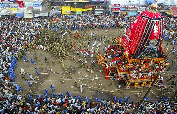 Watch Lord Shree Jagannath Rath-Yatra 2014 on DD National