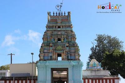 Entrance of Kurinji Temple
