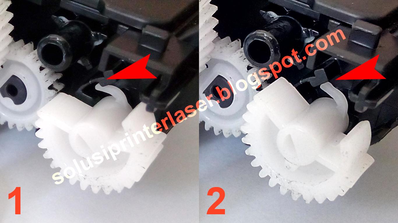 Solusi Printer Laser Refill Isi Ulang Fuji Xerox P115 W Series Docuprint Posisi Gear P115w