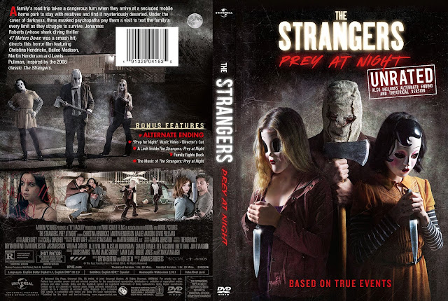 The Strangers: Prey at Night (scan) DVD Cover