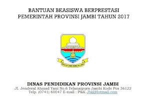 Beasiswa Pemprov Jambi untuk SMA - SMK - D3 - S1 - S2 - S3 - Dokter Spesialis