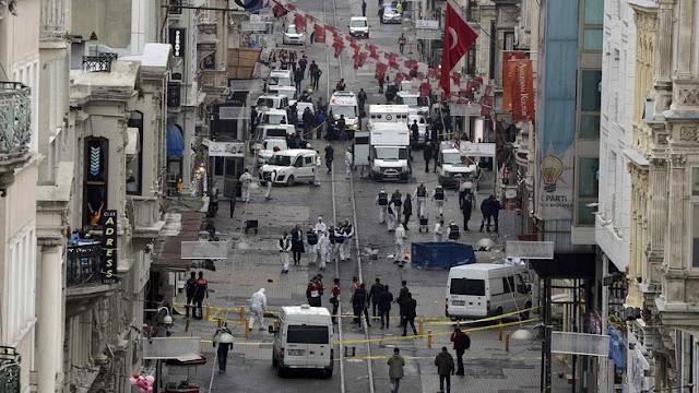 Atentado a bomba em Istambul, na manhã deste sábado