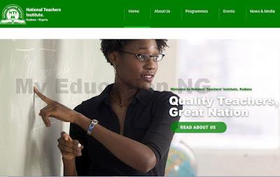 NTI NCE 2018 Admission Form   my.nti.edu.ng NTI Portal
