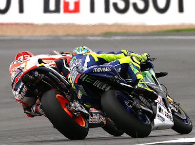 GP Inggris Bakal Jadi Titik Awal Seteru Marquez vs Rossi Jilid II