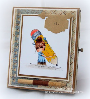 Design Team Thursday with Stamping Bella- Drawer Box and matching Notebook tutorial!