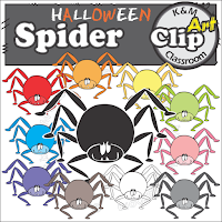 https://www.teacherspayteachers.com/Product/Halloween-Spider-Clip-Art-2792888