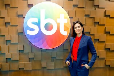 A jornalista é a nova contratada da emissora (Crédito: Gabriel Cardoso/SBT)