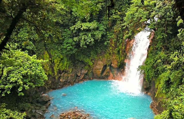 Cachoeira do Rio Celeste - Costa Rica