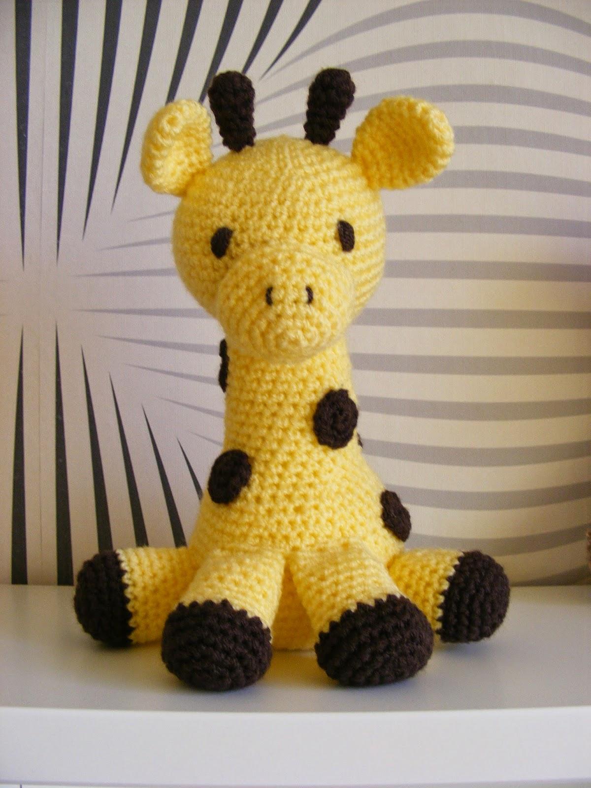 haken amigurumi giraf