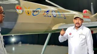 Drone MALE Elang Hitam Buatan Indonesia