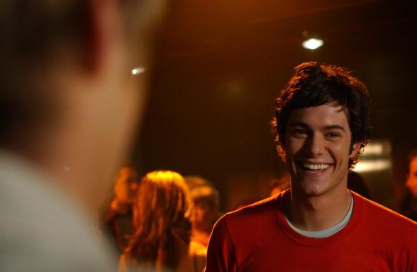 adam brody laughing behind the scenes the oc