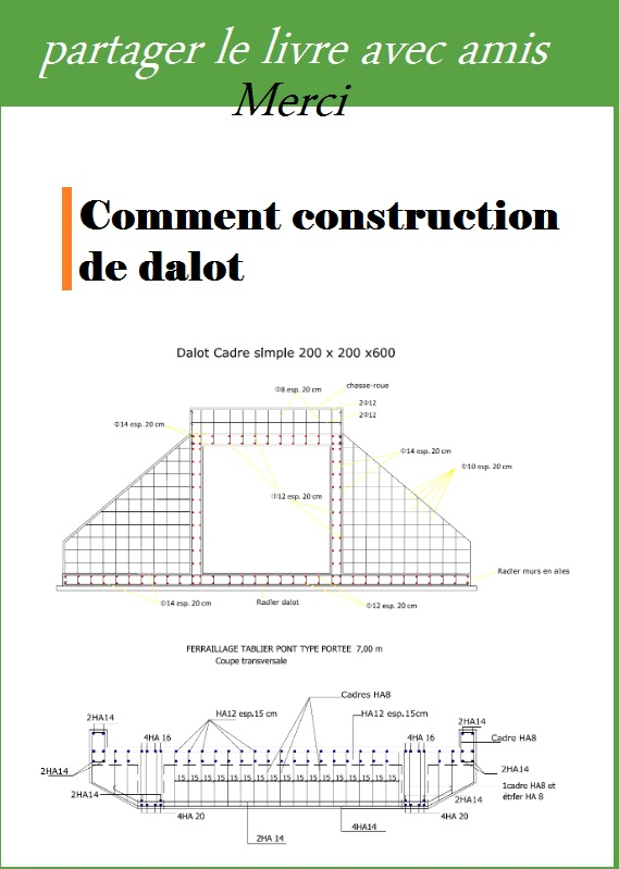 Comment construction de dalot pdf book batiment architecture for Cours de construction pdf