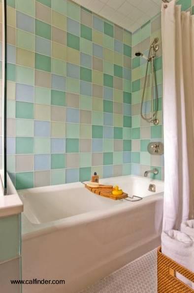 Arquitectura de Casas: Azulejos para el cuarto de baño.