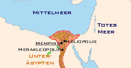 Famous Pharaohs Old Kingdom Of Egypt Map