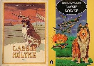 Hélène Commin Lassie kölyke könyv bemutatás