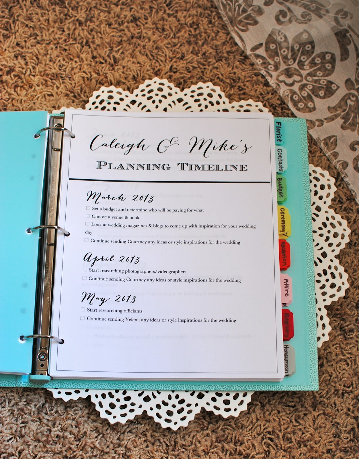 Oh How Darling The Wedding Planner