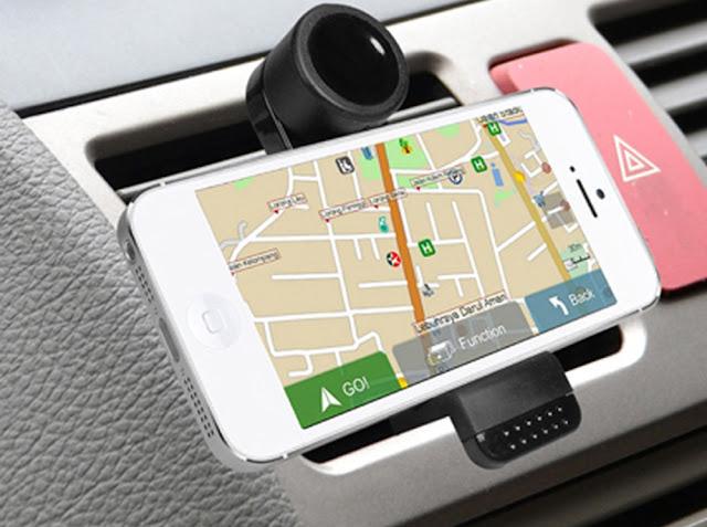 GPS de celular em Las Vegas