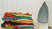 гладить вещи