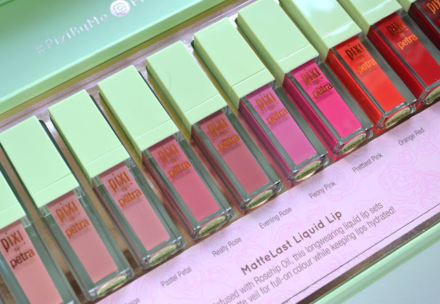 Pixi MatteLast Liquid Lip with Swatches