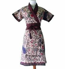 Dress Batik Modern Untuk Wanita Dewasa